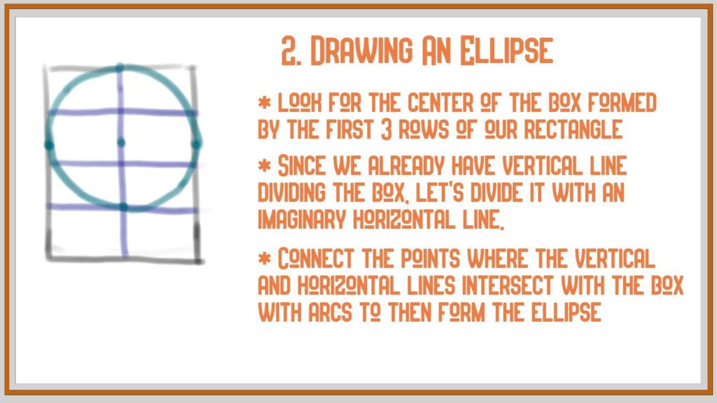 how to draw anime - drawing an ellipse