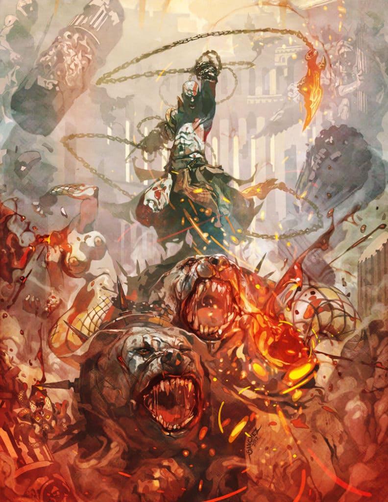 reynan sanchez, Kratos the God Destroyer