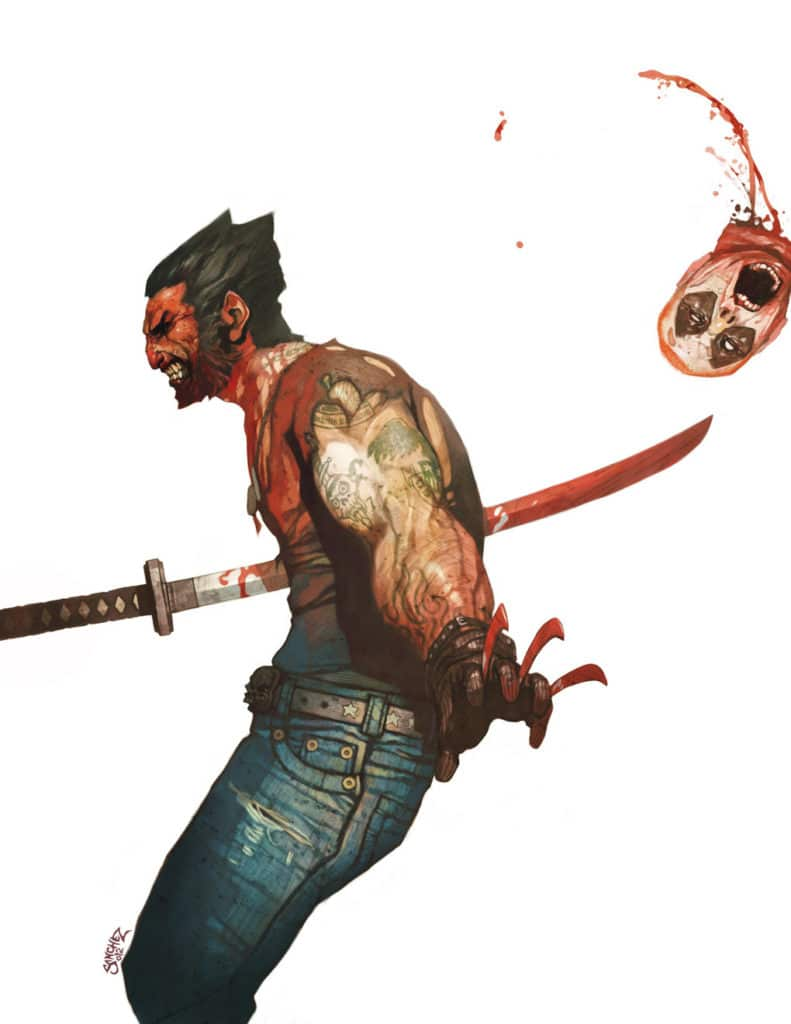 Art Inspiration - Reynan Sanchez Wolverine vs Deadpool